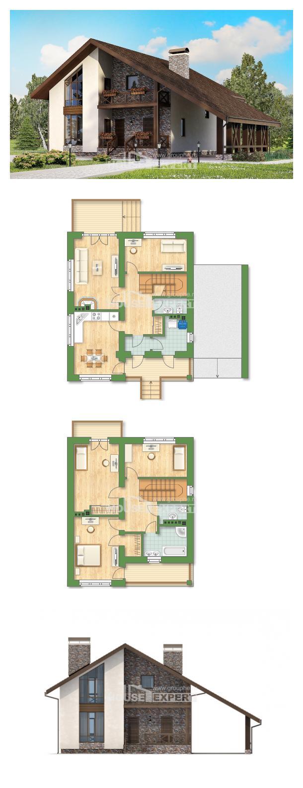 Проект дома 155-007-П   House Expert